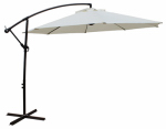 Bond Mfg 60019 Offset Patio Umbrella, Beige, 11.5-Ft.