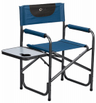 Westfield Outdoor FC-95200S Director's Chair, Blue & Gray, 19 x 18.5 x 34-In.