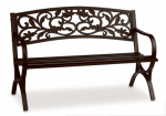 Imperial Power IP-D2923C Garden Bench, Scroll Back Steel & Iron