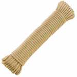 "Wellington Cordage NPC1830CS 1/8""x30' Cream or Creamy Paracord"