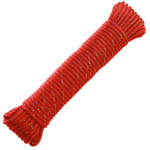 "Wellington Cordage NPC1830RS 1/8""x30' RED Paracord"