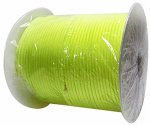 "Wellington Cordage NPC5503240Y 5/32""x400' Yellow Paracord"