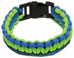Wellington Cordage NPCB550BLGS SM BLU/GRN Bracelet