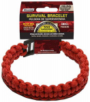 Wellington Cordage NPCB550RS SM RED Surv Bracelet