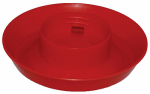 Harris Farms 1000288 Screw-On Poultry Watering Base, Attaches to Qt. Jar
