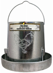 Harris Farms 4217 Hanging Poultry Feeder, Galvanized Steel, 15-Lb. Capacity