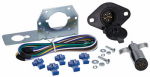 Uriah Products UE600010 Car & Trailer Connector Kit, 6-Way Round