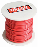 Uriah Products UA521250 Automotive Wire, Insulation, Red, 12 AWG, 100-Ft. Spool