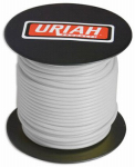 Uriah Products UA521420 Automotive Wire, Insulation, White, 14 AWG, 100-Ft. Spool