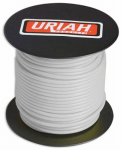 Uriah Products UA521620 Automotive Wire, Insulation, White, 16 AWG, 100-Ft. Spool