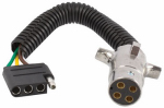 Uriah Products UE424000 Trailer Connector, 4-Way Round