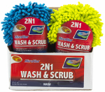 Tiger Accessory Group 9-50-7 Car Soap & Scrub Sponge, Microfiber