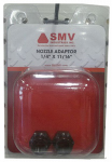 Smv Industries NA Boomless Nozzle Adapter, 1/4 x 11/16-In., 2-Pk.