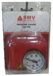Smv Industries PG100 Sprayer Pressure Gauge, 0-100 PSI