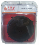 Smv Industries TLV Replacement Tank Sprayer Lid, Black, 5-In.