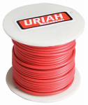 Uriah Products UA521050 Automotive Wire, Insulation, Red, 10 AWG, 75-Ft. Spool