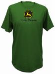 J America 13000000GR04 MED GRN Mens Tee Shirt