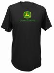 J America 13000000BK04 MED BLK Mens T Shirt