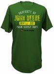 J America 13000001GR07 2XL GRN Mens T Shirt