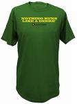 J America 13001030GR04 MED GRN Mens T Shirt