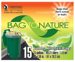 Indaco Mfg MBP24205 Tall Kitchen Bags, 13-Gal., 15-Ct.