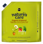 Scotts Miracle Gro 100131 Nature's Care Organic & Natural Vegetables, Fruit & Flower Food, 3-Lbs.