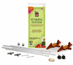 Novelty Mfg 81015 Earthbox Container Garden Kit or Kitchen Staking System, Terra Cotta