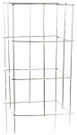 "Glamos Wire Product 701642 16x42"" Heavy Duty Stackable Square Plant Support"