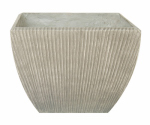 "Allen Group Intl WF01736 16"" GRY Texture Planter"