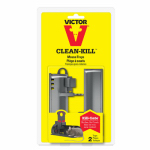 Woodstream M162S Clean Kill Mouse Trap, 2-Pk.
