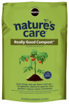 Scotts Organic Group 70951120 Nature's Care Garden Compost, 1-Cu. Ft.
