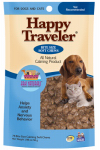 American Distribution & Mfg 21002 Happy Traveler Dog Treats, Soft Chicken Chews, 120-Ct.