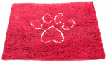 American Distribution & Mfg 351-073-15 Dog Mat, Maroon, 31 x 20-In.
