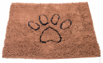 American Distribution & Mfg 351-074-15 Dog Mat, Brown, 31 x 20-In.