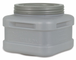 Petmate 24697 Mason Jar Pet Food Storage, Plastic, 20-Lbs.