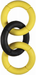 Petmate 43132 Dog Toy, Rubber Chain, Small