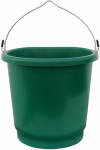 Farm Innovators FB-80 Heated Bucket, Flat Back, 3-Gals.