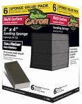 Ali Industries 4200 6PK MED/Coa Sand Sponge
