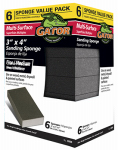 Ali Industries 4204 6PK X-Fine Sand Sponge