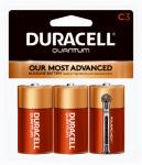 "Duracell Distributing Nc 665167 Quantum Alkaline Batteries, ""C"", 3-Pk."