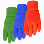 Midwest Quality Gloves 537K Kids Cotton Jersey Glove, Knit Cuff, Assorted