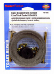 Plumb Shop Div Brasscraft 187636 Tank-To-Bowl Gasket/Bolt Kit