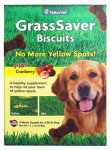 American Distribution & Mfg 03437 Dog Treats, Grass Saver Biscuits, 11-oz.