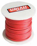 Uriah Products UA521850 Automotive Wire, Insulation, Red, 18 AWG, 100-Ft. Spool