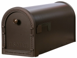 Solar Group DM160V01 Rural Mail Box, Steel, Venetian Bronze, 1.8 x 8.7 x 22.5-In.