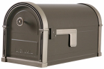 Solar Group HM16NL01 High Grove Mailbox, Steel, Light Bronze, 11.5 x 9.6 x 22.7-In.