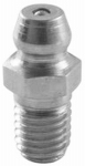 "Double Hh Mfg 50580 1/8 NPT STR Grease Fitting, 3 Per Bag, commonly referred to as 1/8"" NPT zerk fitting."