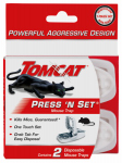 Scotts-Tomcat 0360710 2PK Pres/Set Mouse Trap
