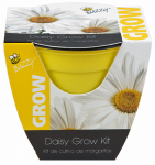 Buzzy 95531 Daisy  Grow Kit, 4-In. Plastic Pot