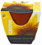 Buzzy 95532 Sunflower Grow Kit, 4-In. Plastic Pot